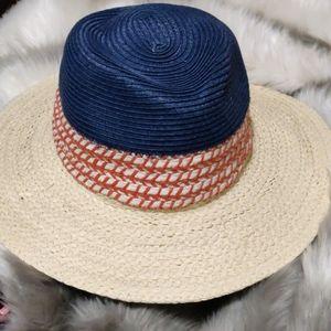 14th & Union NEW multicolor Panama straw hat